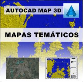 CURSO AUTOCAD MAP - MAPAS TEMÁTICOS