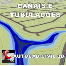 Curso Autocad Civil 3D - Canais e Redes de Tubulações