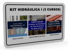 KIT HIDRÁULICA I (3 CURSOS)