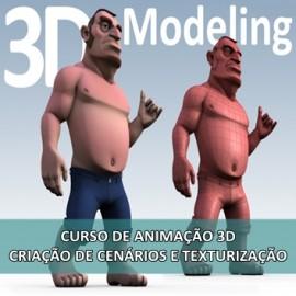 CURSO DE ANIMAÇÃO 3D - CRIAÇÃO DE CENÁRIOS E TEXTURIZAÇÃO