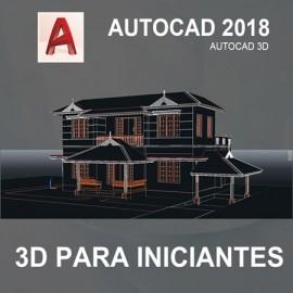 CURSO - AUTOCAD 3D 2018 - INICIANTES