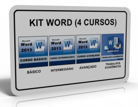 KIT WORD (4 CURSOS)