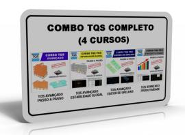 SUPER COMBO TQS AVANÇADO (4 CURSOS)