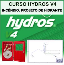 CURSO HYDROS - INCÊNDIO: PROJETO DE HIDRANTE