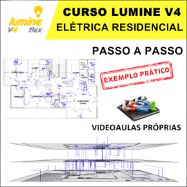 CURSO - LUMINE V4 - PROJETO ELÉTRICO RESIDENCIAL