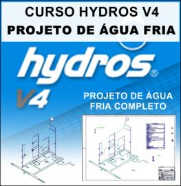 CURSO HYDROS - PROJETO DE ÁGUA FRIA PASSO A PASSO
